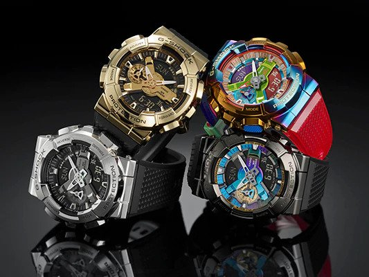 Casio to Release Digital-Analog Combination G-SHOCK